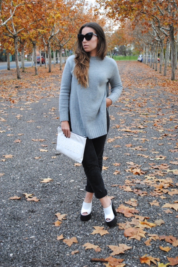 look grises invierno