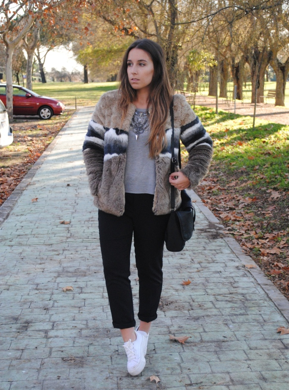 cozy and warm winter outfit