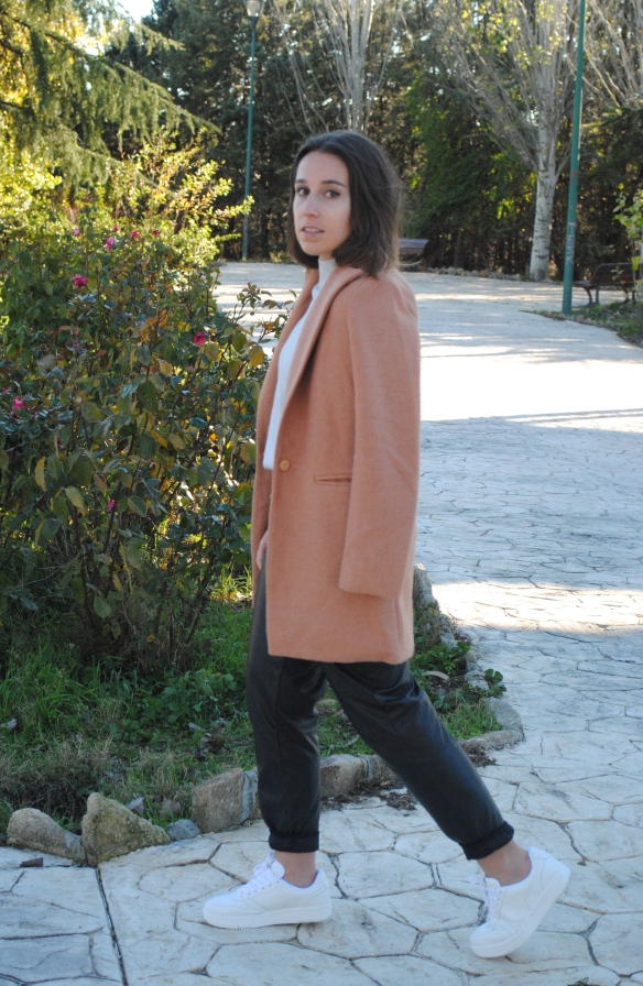 look camel coat