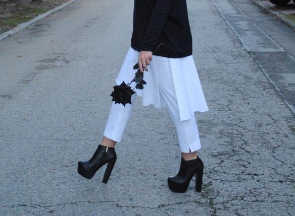 skirt over pants