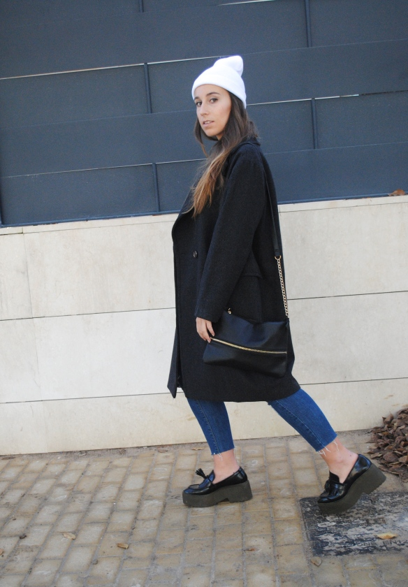 look abrigo oversized