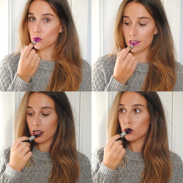 purple lipstick shades