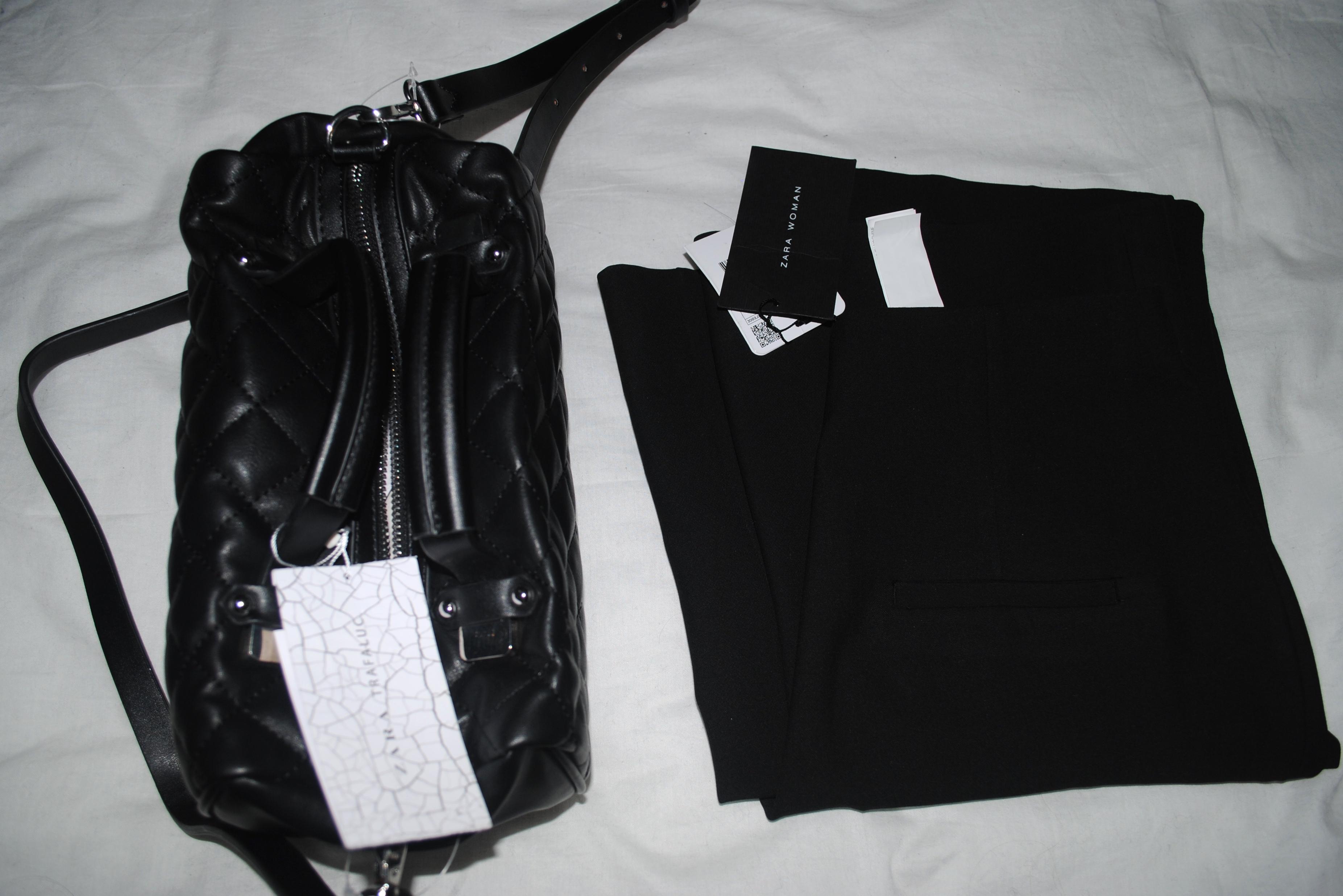 zara mini cross body bag