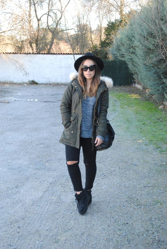 casual country winter outfit