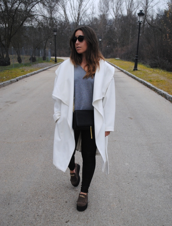casual chic winter look