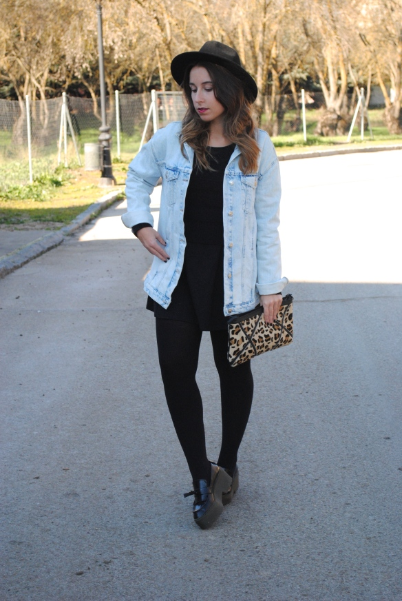 girly winter look