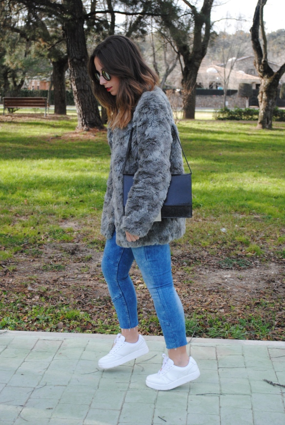 comfy winter look