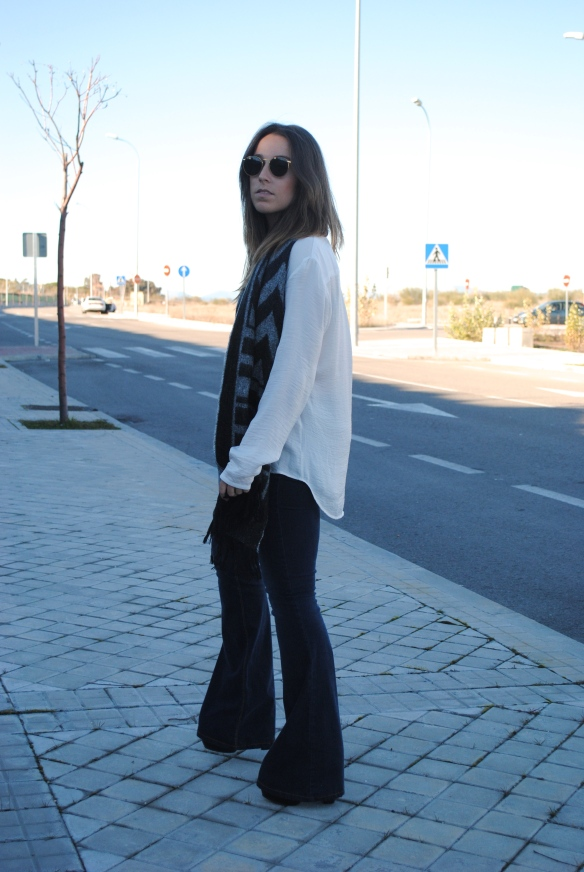 relaxed winter look