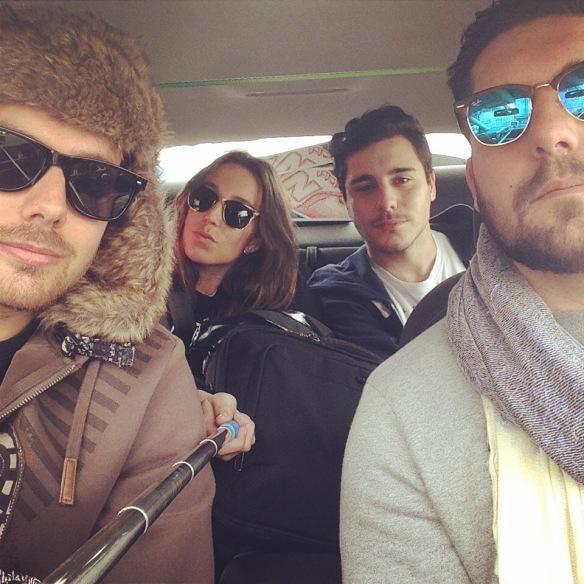friends road trip