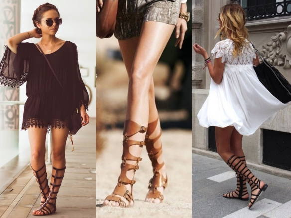 looks sandalias gladiadoras