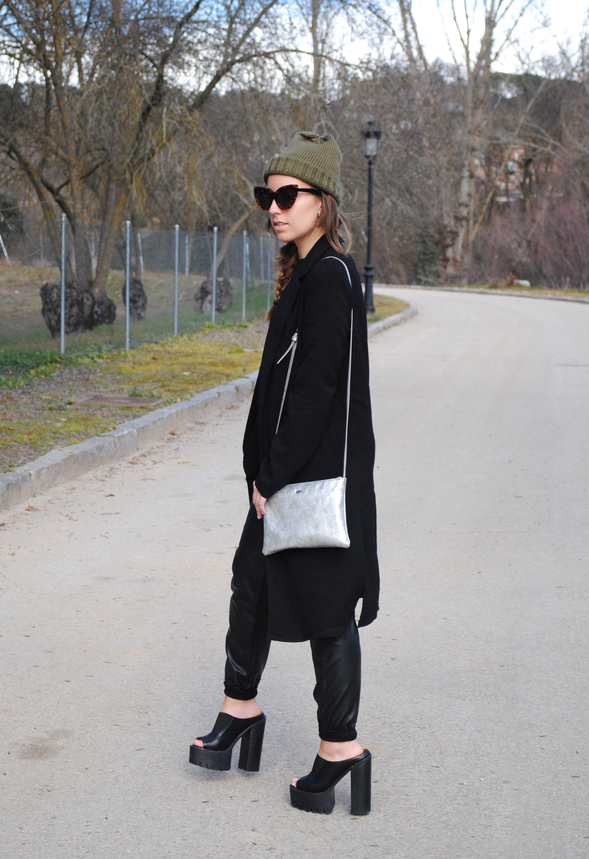 cool edgy winter outfit