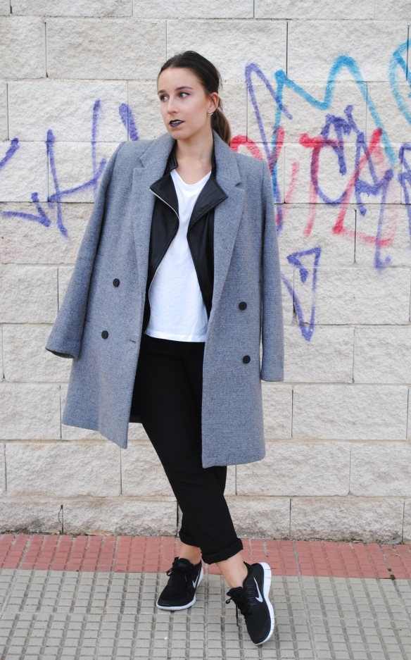 look sporty chic invierno