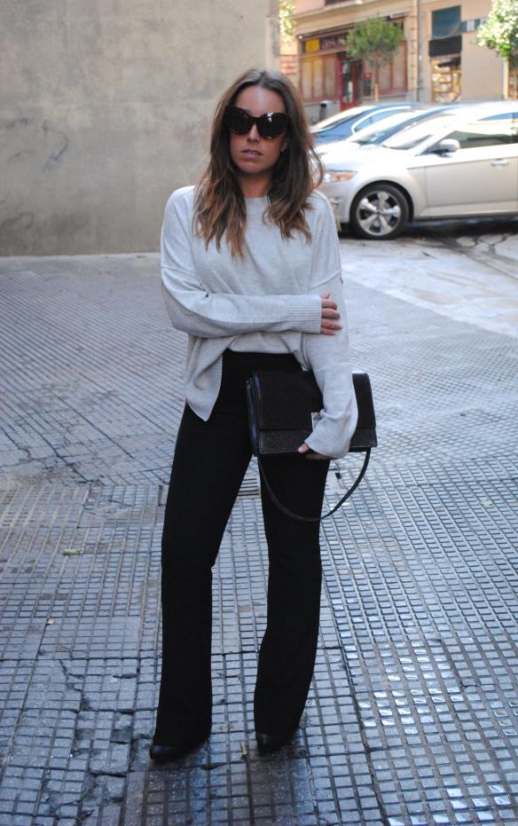 look pantalones de campana