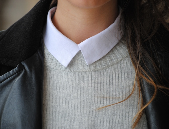 layered white shirt