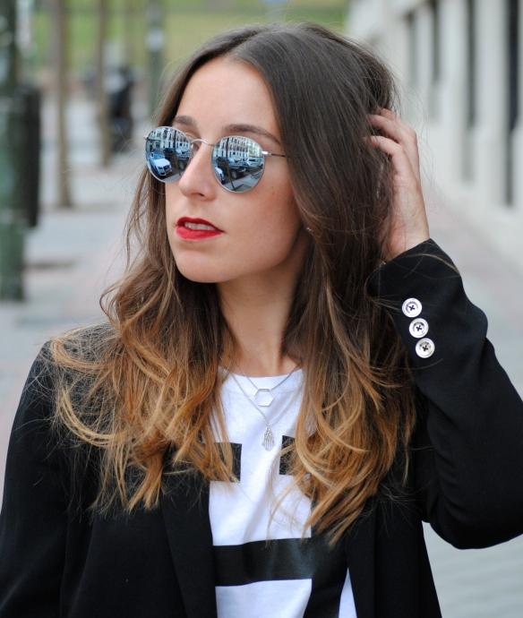 silver round ray ban sunglasses