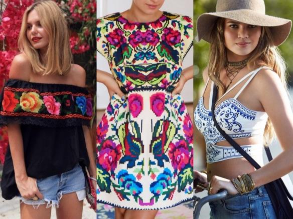 moda inspiración mejicana