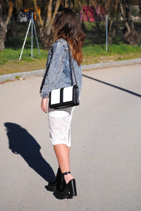 high chunky heels