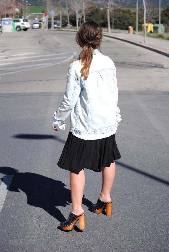 look chaqueta vaquera