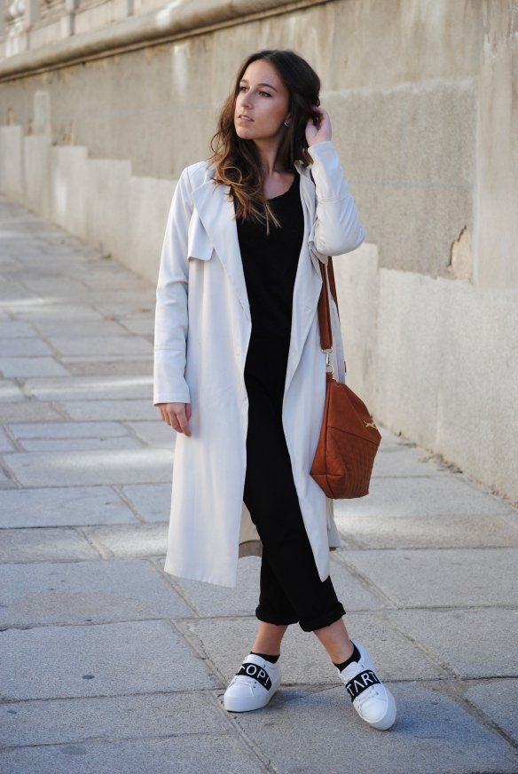 winter spring transition outfit
