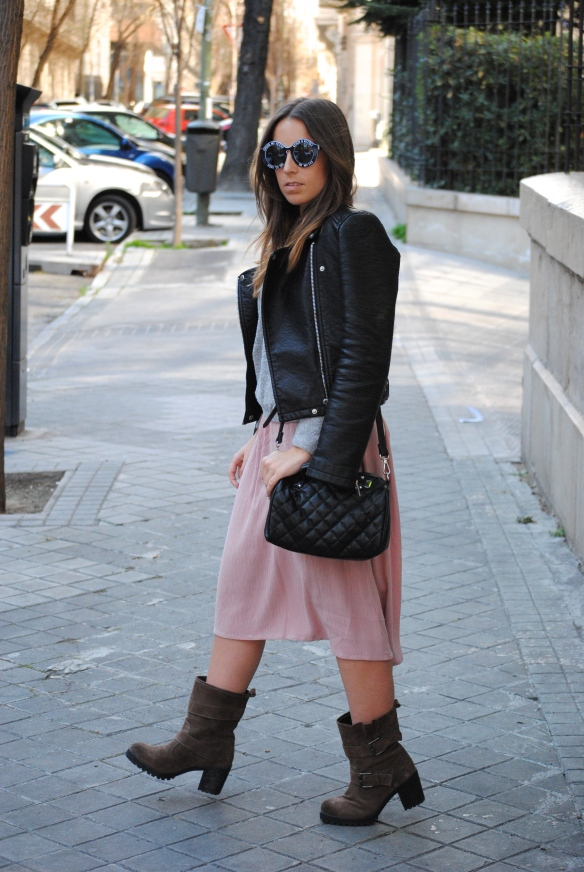 look rocker chic invierno