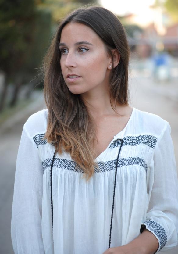 blusa estilo bohemio
