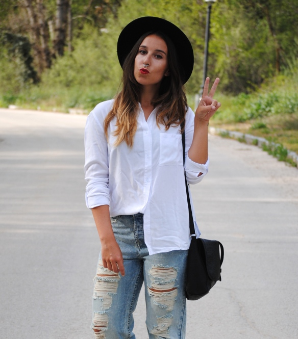 grunge spring outfit