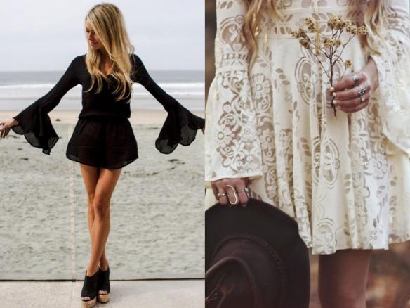 vestidos verano boho chic