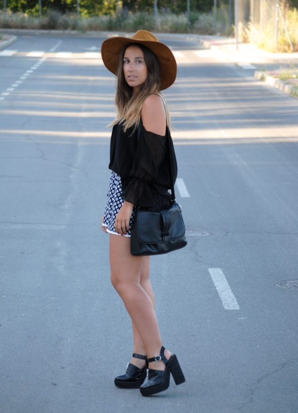 boho chic spring outfit