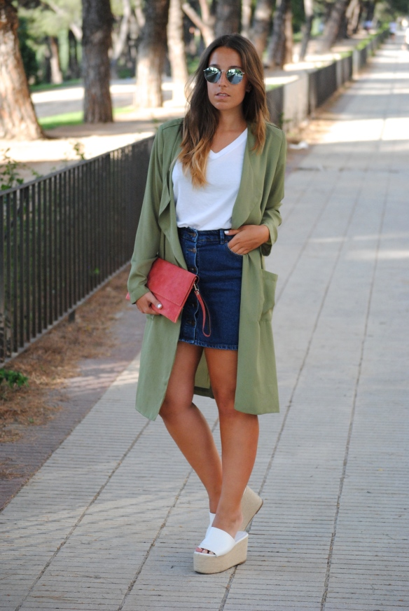 casual chic afternoon look