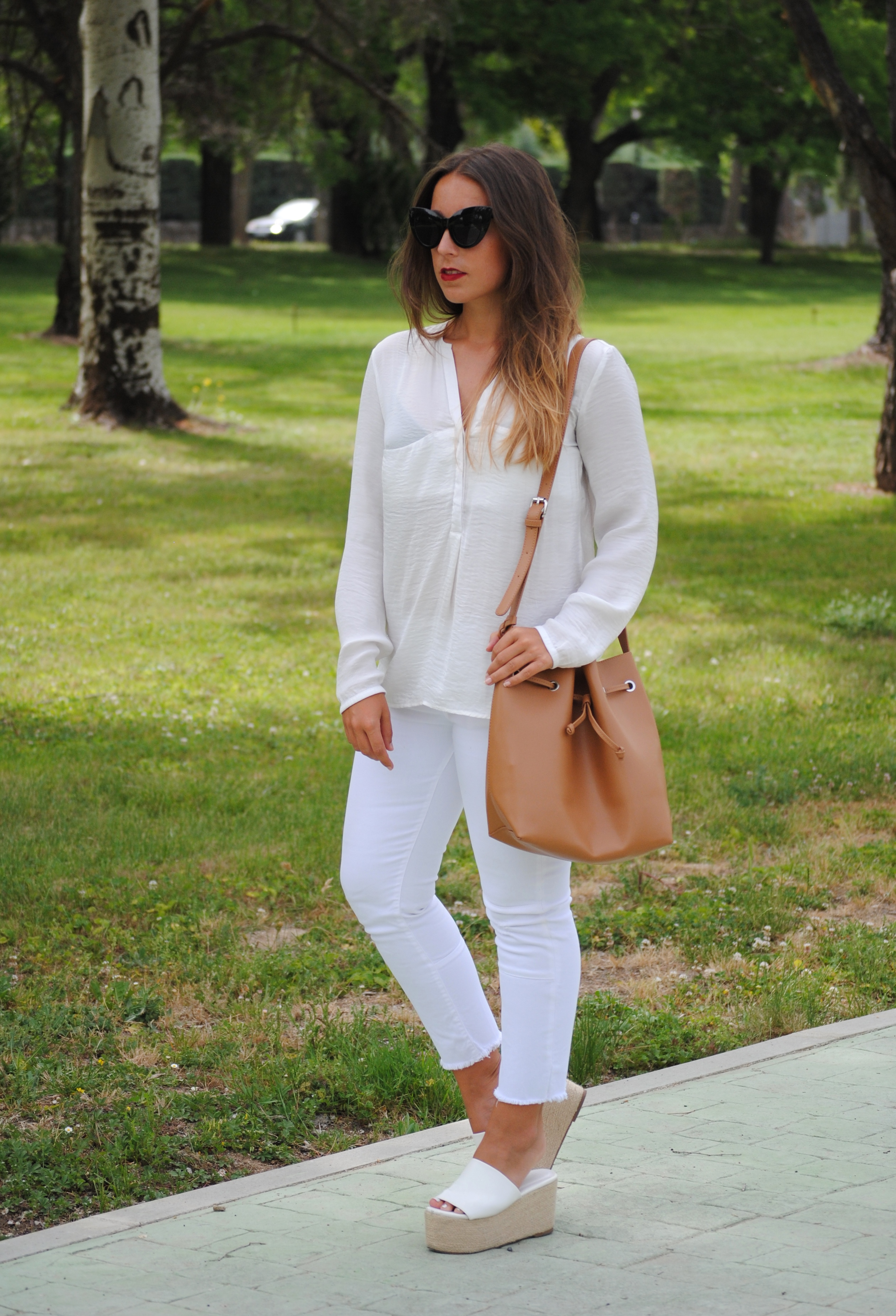 casual chic spring look