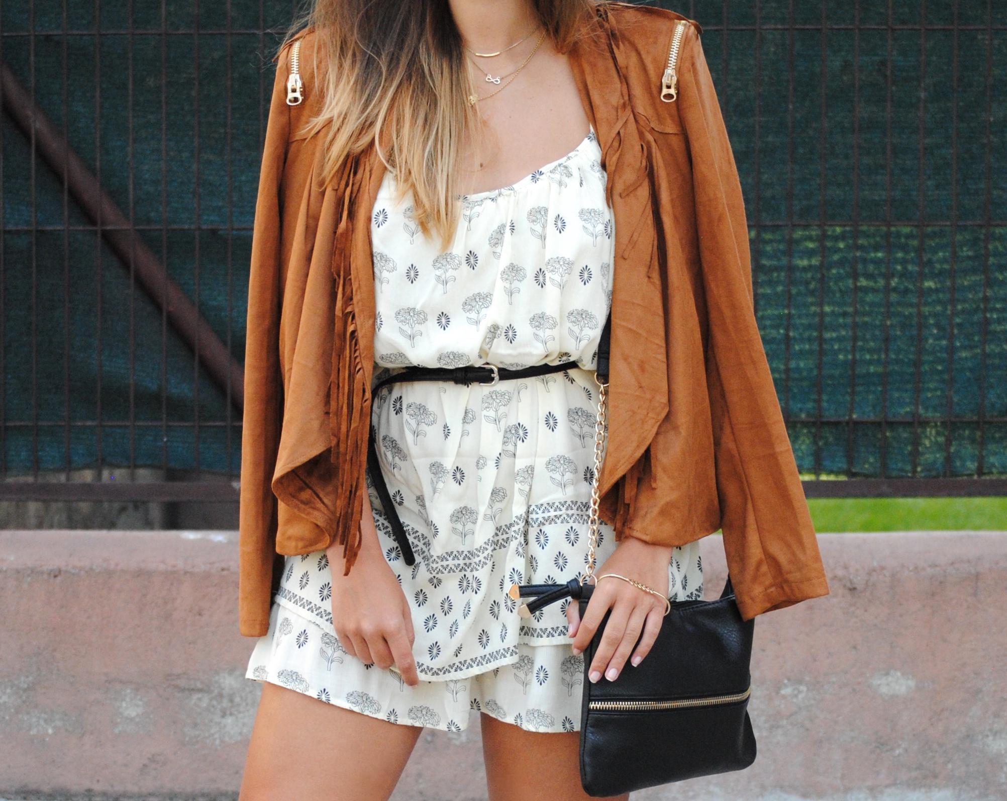 vestido estampado verano