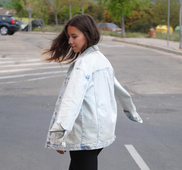 chaqueta vaquera oversized