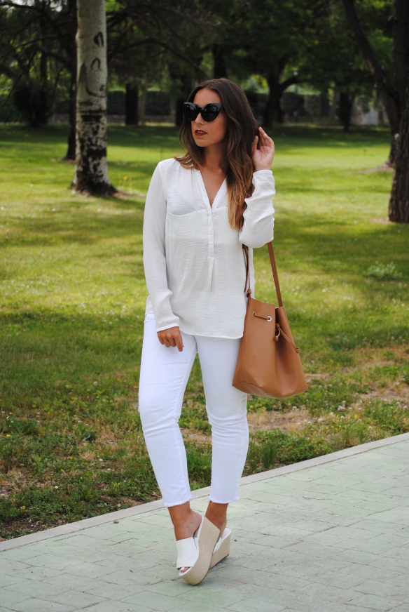 look blanco primavera