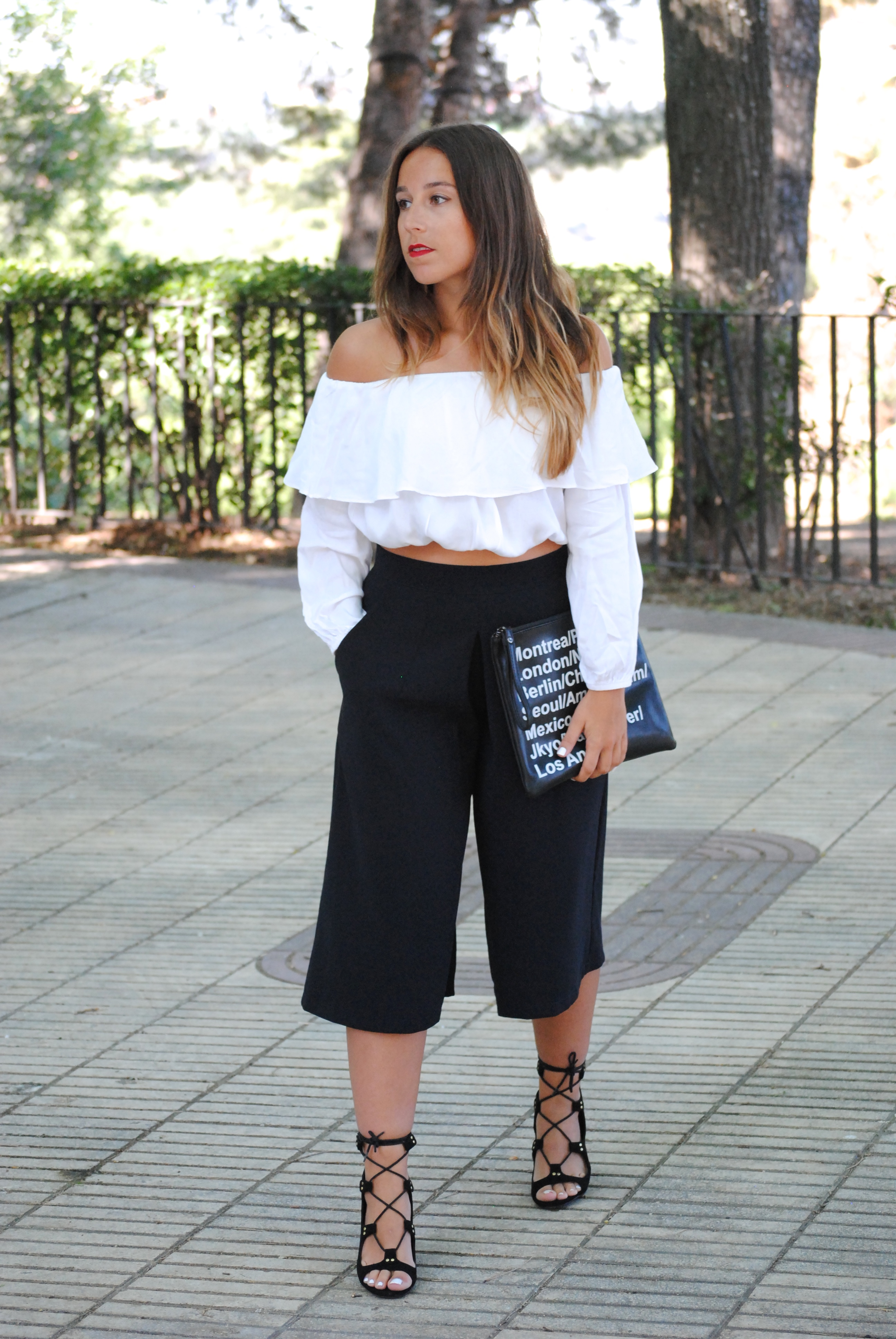urban chic spring outfit
