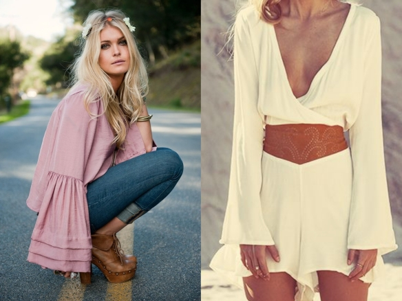 boho chic inspired looks