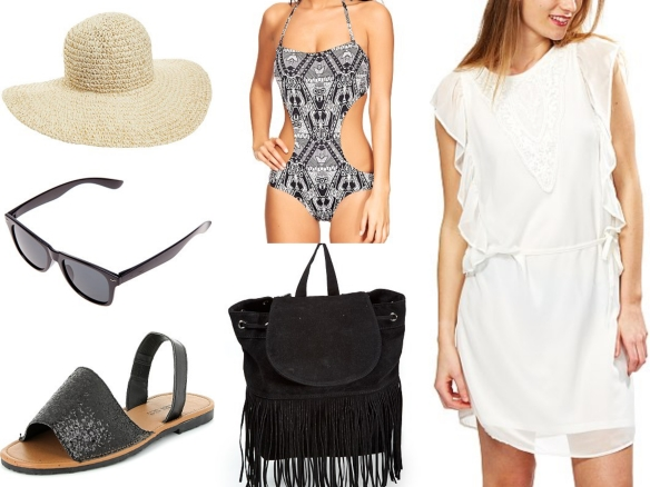 stylish beach outfit