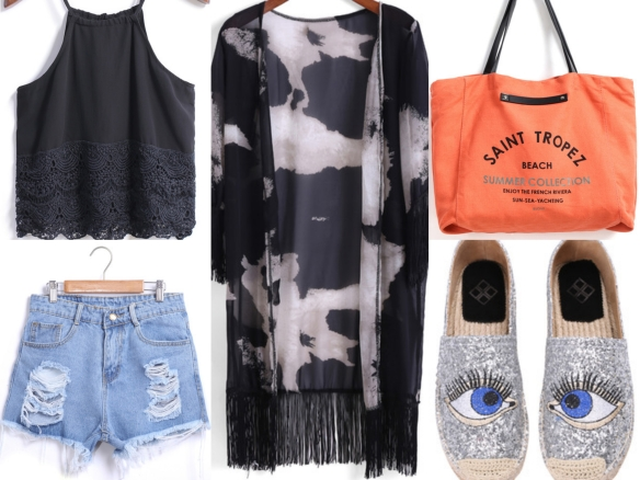 sheinside summer look