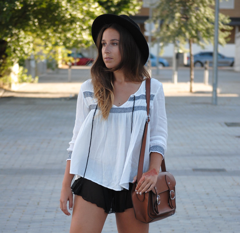 boho chic blouse