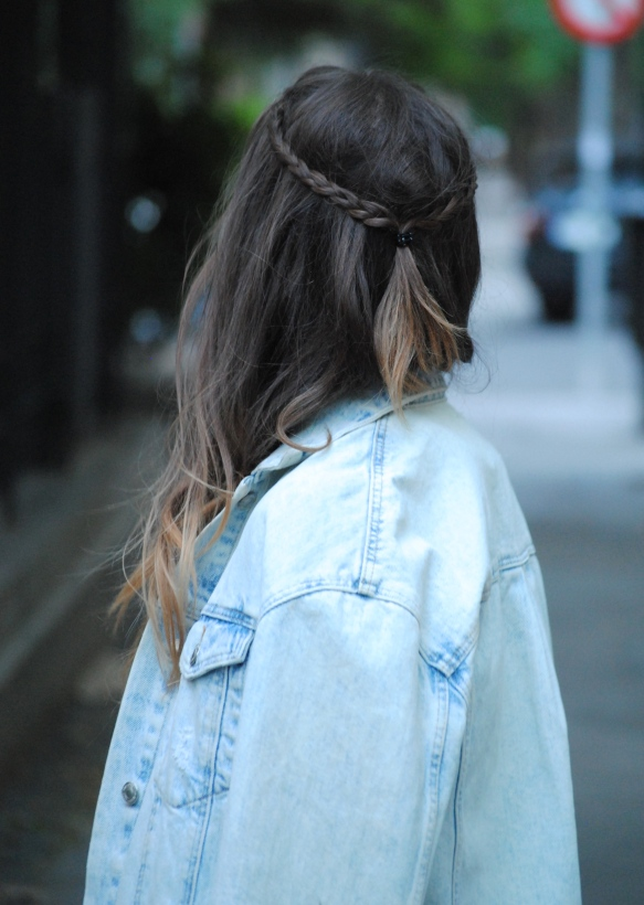 boho chic hairstyle